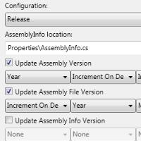 Updating assemblyinfo